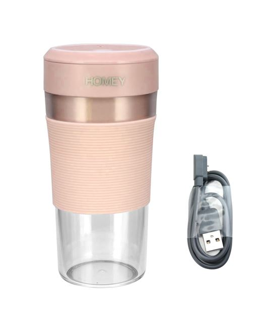 图片 HOMEY 迷你攪拌機 (粉紅色) MB-300P
