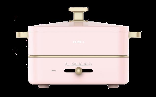 圖片 HOMEY - iSmart 迷你多功能料理鍋 HPP-80P