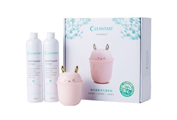 图片 AN-002P Cleantasy AirNano® 納米殺菌淨化機套裝